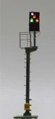 Krois-Modell KS1016, KS multi-section signal 1: 120 right, Shortened distance of the braking distance