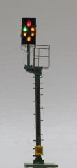 Krois-Modell KS1019, KS-cut signal 1: 120 left, with caution