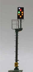 Krois-Modell KS1026, KS cross-section signal 1: 120 right, caution signal, shortened braking distance