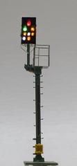 Krois-Modell KS1029, KS multi-section signal 1: 120 left, with caution signal, jogging signal, silencer