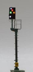 Krois-Modell KS1031, KS multi-section signal 1: 120 left, shortened braking distance, with pre-signal repeater