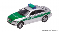 Vollmer 41630, H0 BMW 330i police, green / silver, finished model