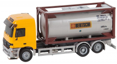 Krois-Modell Car-System 7026, LKW MB Actros LH96 Chemietransporter Bertschi (HERPA)