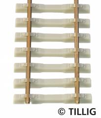 Tillig 85134, Concrete sleeper flex track, length 470 mm