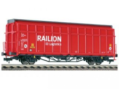 Fleischmann 537501, Sliding wall wagon, type Hbins-tt 292, of the DB AG (RAILION).