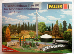 Faller 33382, Renewable energies kit with 5 building kits