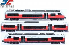 Jägerndorfer 48300,  Electric multiple unit Rh 4744.027 Desiro ML of the ÖBB, epoch VI