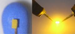 Krois-Modell 0402 gelb, 5x Led Baugröße 0402,  1,0x0,5 mm