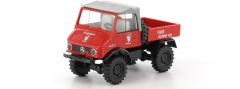 Brekina 39085, MB Unimog 421 Cabrio, FW Mayrhofen Blaulichtmodell